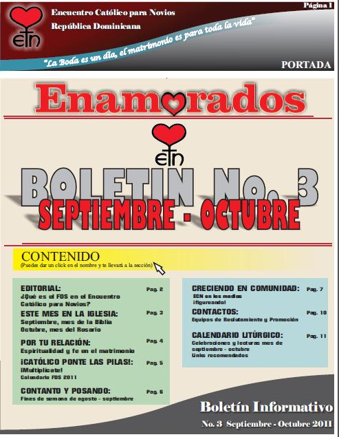 Boletin #3 Sep - Oct 2011